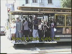 VHS San Francisco CA 1998-09b Part 01 Video (CanadaGood) Tags: usa ca california sanfrancisco funeral jazz music cablecar parking traffic video analog 1998 blue green color colour vhs camcorder america vhstapecapture streetphoto building person people canadagood nineties vehicle