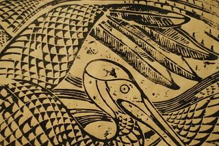 Walter Anderson, Horizontal Pelican