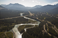 Alpine Aerial Tour (Canmore, Alberta) (Damien Mustaphi) Tags: mountain sisters landscape three nikon tour rocky aerial mount alpine alberta canmore heli d700 assinniboine aat20110826