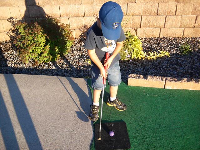 Will golfing