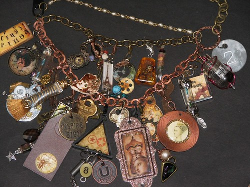 Mixed Media Charm Jewelry 009
