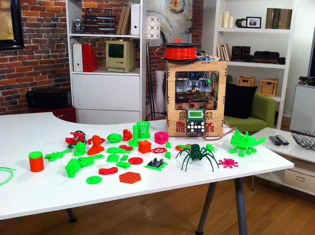 In the studio with the MakerBot @getconnectednow