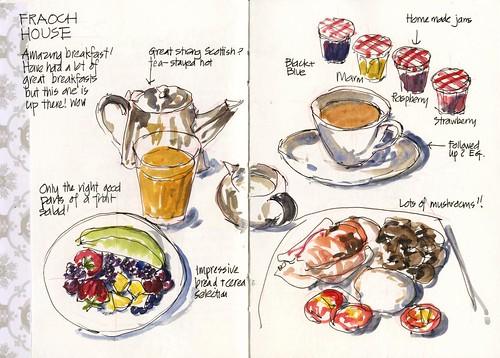 06_Tu17 02 Wonderful Fraoch House Breakfast