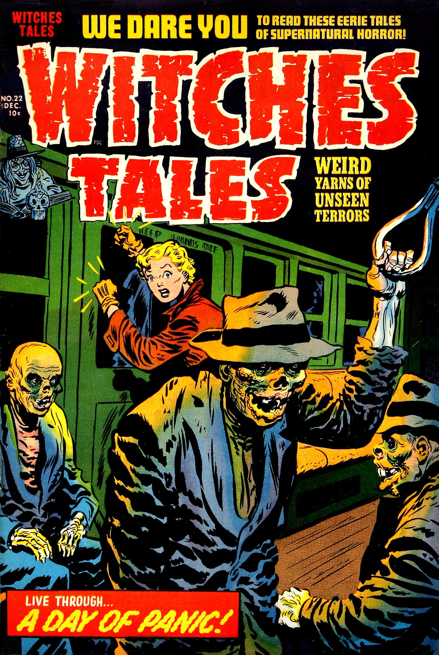 Witches Tales #22, Warren Kremer, Lee Elias Cover(Harvey, 1953)