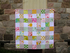 nicey jane baby quilt (greenleaf goods) Tags: baby quilt jane nicey