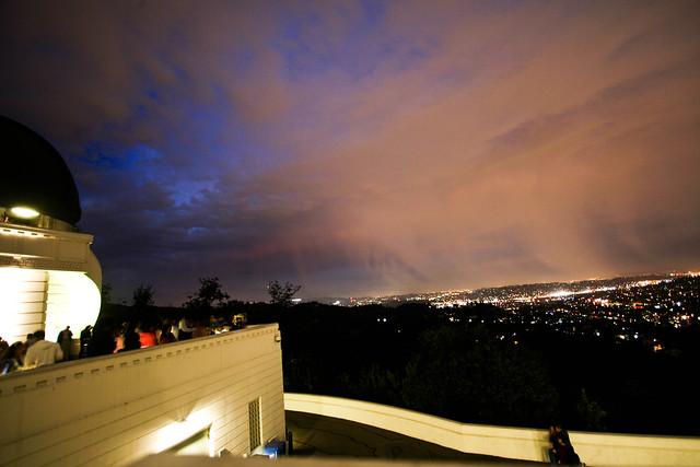 Rainstorm Over LA