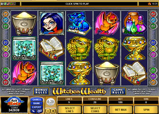 Witches Wealth slot game online review