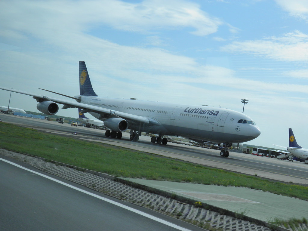 avis du vol airways frankfurt am en economique