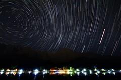 Kachura Lake - Star Trail (Babar.Asghar Photography) Tags: pakistan explore sigma1020mm startrail skardu kachura deosaiplains canont2i550d amazinglake aneveningatthekachuralake