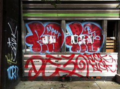 NEMZ, VIZE, KH1, ADEK, REMO, SD, DE3, RUSK (S C R A T C H I E S) Tags: nyc graffiti sd dod adek remo 357 mtk rusk vize btb btm de3 kh1 nemz