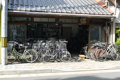 Old Kyoto Bicycle Shop