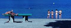 Luzern (SinoLaZZeR) Tags: beach strand canon schweiz switzerland luzern powershot lucerne s95 ufschötti