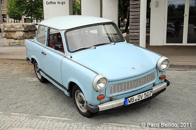 Berlín - Trabant, el coche de la Alemania del Este