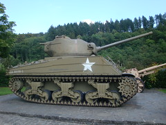 Tank 1 (Daviesfamily1) Tags: castle castles us tank military wwii luxembourg sherman usarmy clervaux battleofthebulge shermantank dylandavies ustank