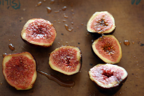 Figs on Baking Sheet