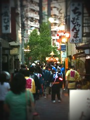 お神輿を目撃(2011/9/11)