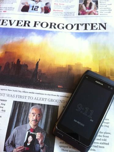 9/11 reminder