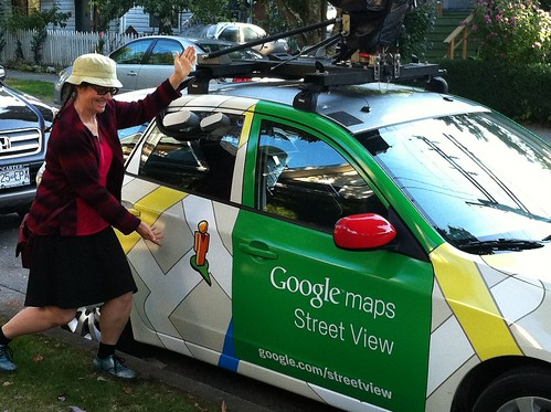 Google Street View Car!