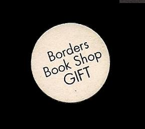 1990s, Borders Book Shop, gift label to cover printed price by Exile Bibliophile