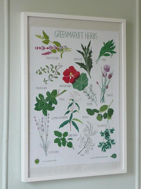 Greenmarket Herb Poster
