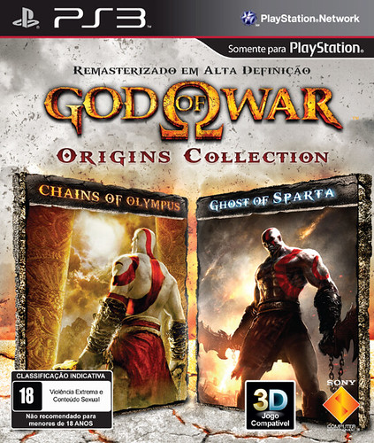 Capa de God of War: Origins Collection