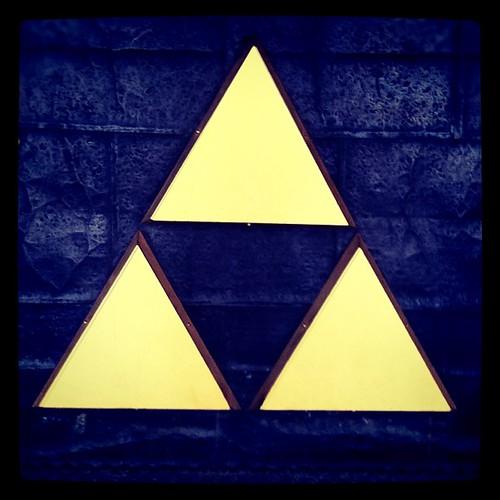 Zelda Triforce? #zelda #triforce