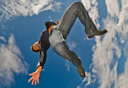 free fall dim