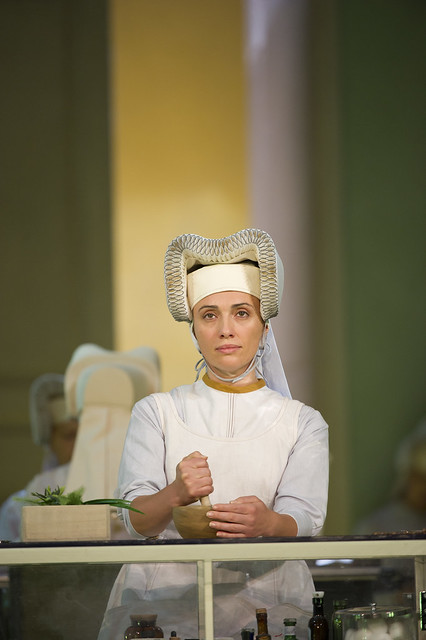 "Ermonela Jaho as Sister Angelica in Richard Jones' production of Suor Angelica. The Royal Opera season 2011/12. <a href=""http://www.roh.org.uk"" rel=""nofollow"">www.roh.org.uk</a> Photo by Bill Cooper"