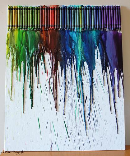 Crayon Canvas Melt - Munchkin