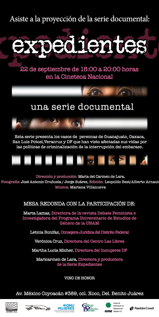 Serie documental Expedientes