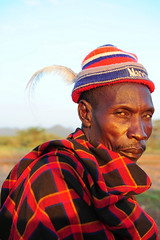 early morning portrait (luca.gargano) Tags: africa travel portrait man colors kenya tribal adventure tribe gargano turkana