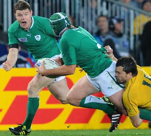 O'Driscoll guida l'Irlanda