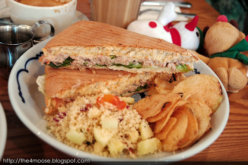 Group Therapy - Tuna Melt Panini