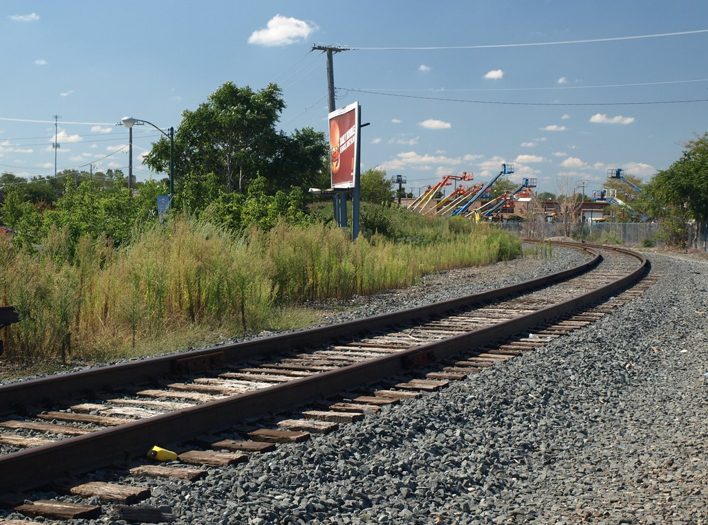 Stock Yard Railroad Spur