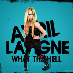 What The Hell - Avril Lavigne (Strangers23) Tags: pink baby black green love nerd me smile abbey fashion dawn star you hell style save here cover single hate what were goodbye wish ramona avril lavigne wth lullaby