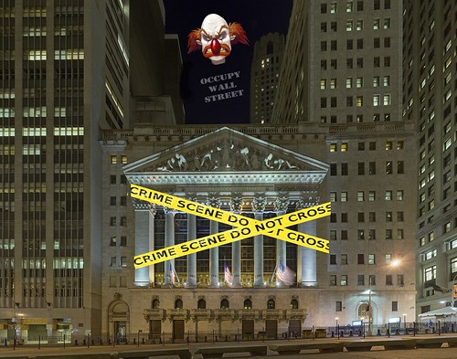 OCCUPY WALL STREET by Colonel Flick