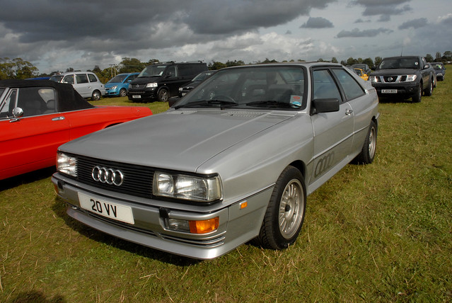 wood old good turbo parked 1992 audi rare quattro 20vv