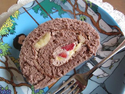 ハーブ ロールケーキ