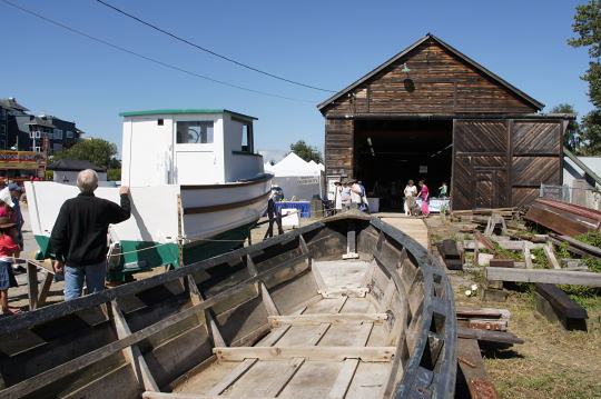 The Richmond Maritime Festival 2011 at the Britannia Heritage Shipyard in Steveston, BC