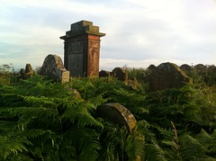 Graveyard, Repentance Tower, Hoddom Castle, Dumfriesshire.