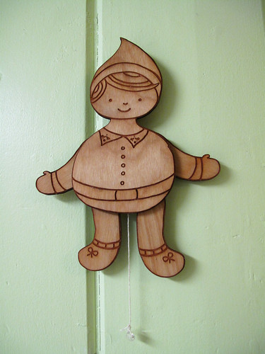 Boy Elf String Puppet 0196