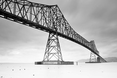 Astoria-Megler Bridge (al23smith) Tags: bridge b white black oregon river nikon w columbia astoria megler d90