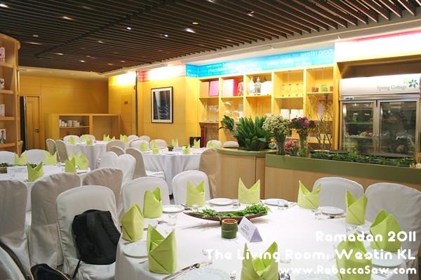 Ramadan 2011 - The Living Room, Westin KL-0
