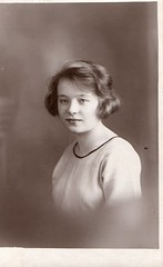 My mother in her teens. 1920's (wonky knee) Tags: 1930s mother teenaged