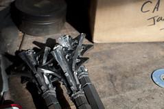 Shadows (Fauxlaroid) Tags: swords armsarmor