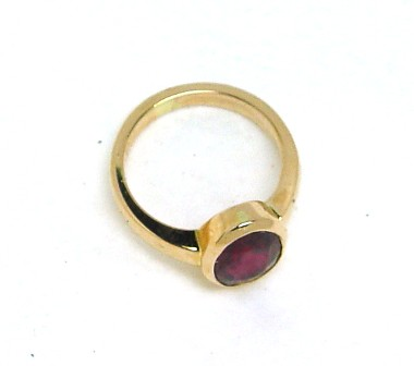 .Ruby Dress Ring