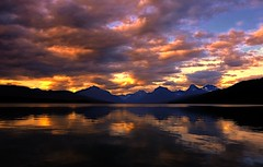 Spellbound (Phil's Pixels) Tags: sunset bravo montana dusk glaciernationalpark cloudscapes apgar lakemcdonald