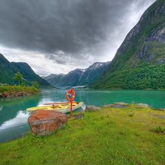 Grytta camping (Mariusz Petelicki) Tags: norway norge hdr norwegia vertorama gryttacamping