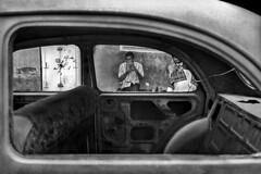 India - Kolkata (luca marella) Tags: street old people bw india white black film car blackwhite voigtlander bessa documentary pb bn e frame kolkata bianco nero calcutta analogic marellaluca