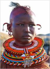 Turkana people (Rita Willaert) Tags: woman kenya kenia nomade nomaden turkanapeople turkanatribe